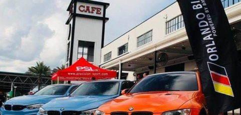 BMW Night Ace Cafe