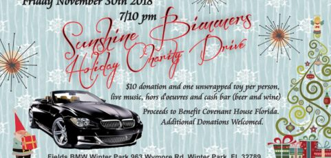 2018 Sunshine Bimmers Holiday Charity Drive