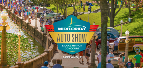 Registration is open for the MIDFLORIDA Auto Show & Lake Mirror Concours